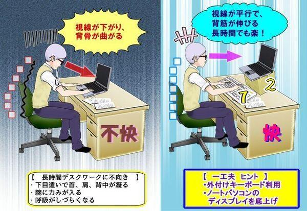ノートパソコンをデスクワークで利用する人への提言.jpg