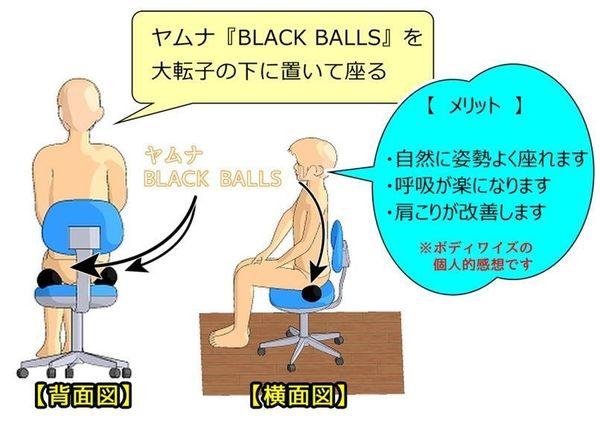 ヤムナブラックボールを使って股関節調整.jpg