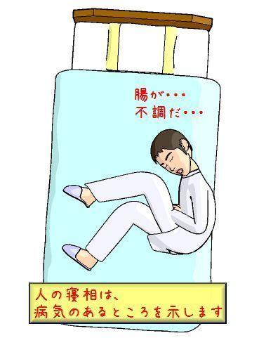 人は寝ながら病気のあるところをかばうもの.jpg